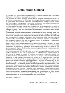 comunicato stampa i.s.13-07-12-001