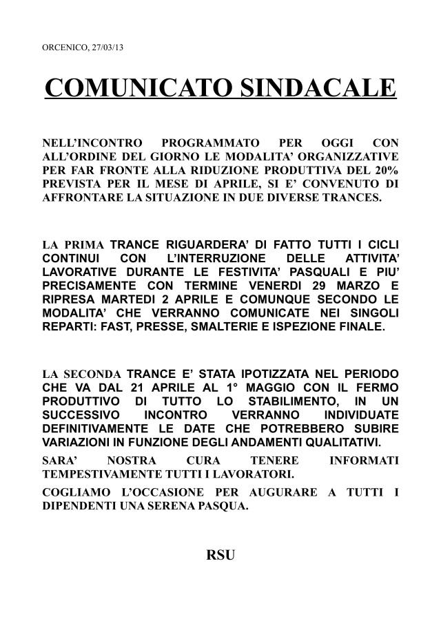 comunicato rsu27-03-2013-001
