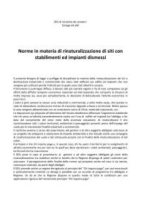 2013.10.15.ddl sonego ed altri.norme  in materia di rinaturalizzazione di siti con stabilimenti ed impianti dismessi-001
