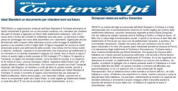 ilcorrieredellealpi19-11-2013