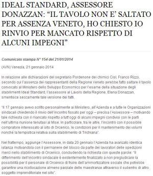 comstampaRegVeneto21-01-2014