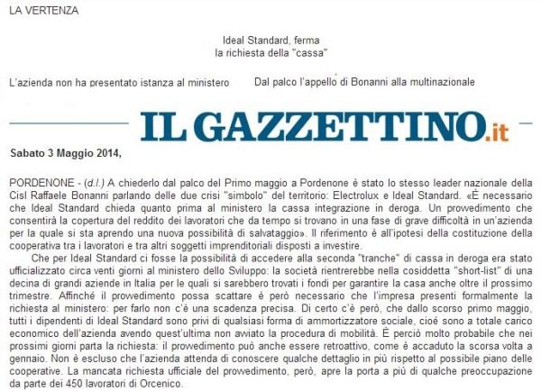 ilgazzettino03-05-2014